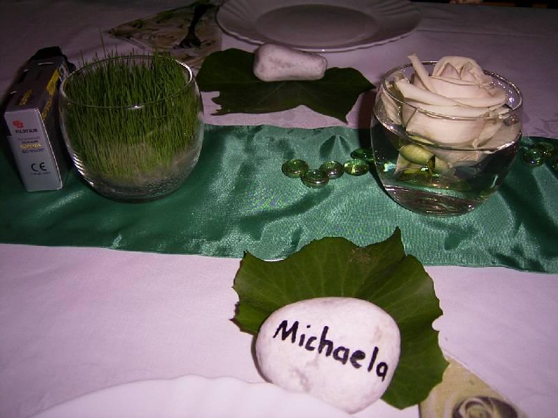 Tischkarten kieselsteine einladungen deko und for Kieselsteine baumarkt